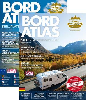 Bordatlas 2018. Deutschlands Premium-Stellplatzführer - Redaktion Reisemobil International  [Taschenbuch]