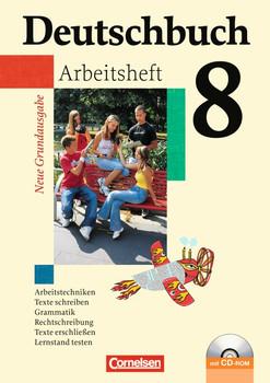 Deutschbuch - Neue Grundausgabe. Sprach- und Lesebuch: Deutschbuch 8. Schuljahr. Arbeitsheft mit Lösungen - Günther Biermann