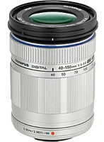 Olympus 40-150 mm F4.0-5.6 ED 58 mm Obiettivo (compatible con Micro Four Thirds) argento