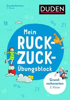 Mein Ruckzuck-Übungsblock Grundrechenarten 2. Klasse - Beate Schreiber  [Taschenbuch]