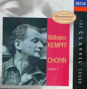 Wilhelm Kempff - Kempff Spielt Chopin 1