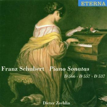 Dieter Zechlin - Klaviersonaten D 537, 557, 566