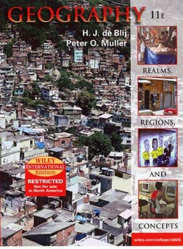 Geography. Realms, Regions and Concepts. International Edition - Peter O Muller [Gebundene Ausgabe]