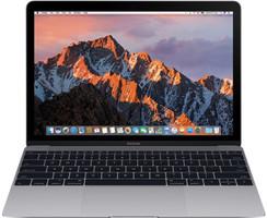 Apple MacBook 12 (Retina Display) 1.2 GHz Intel Core M3 8 Go RAM 256 Go PCIe SSD [Milieu 2017, clavier anglais, QWERTY] gris sidéral