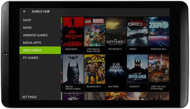 "Nvidia Shield Tablet 8"" 16 Go [Wi-Fi] noir"