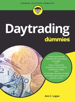 Daytrading für Dummies - Ann C. Logue  [Taschenbuch]