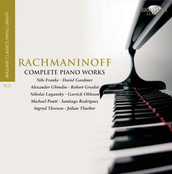 N. Lugansky - Rachmaninoff:Compl.Piano Works - Brilliant Classic Piano Library
