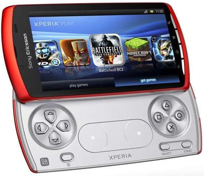Sony Ericsson Xperia Play naranja
