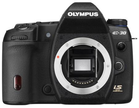 Olympus E-30 zwart