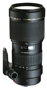 Tamron SP AF 70-200 mm F2.8 Di LD IF Macro 77 mm Obiettivo (compatible con Canon EF) nero