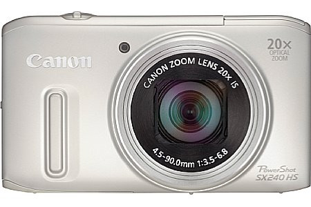 Canon PowerShot SX240 HS zilver