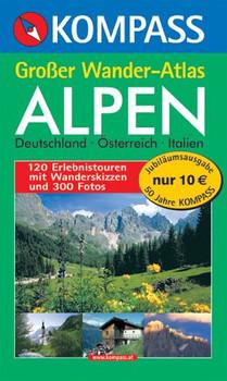Kompass Großer Wander-Atlas Alpen