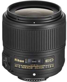 Nikon AF-S NIKKOR 35 mm F1.8 ED G 58 mm Objectif (adapté à Nikon F) noir