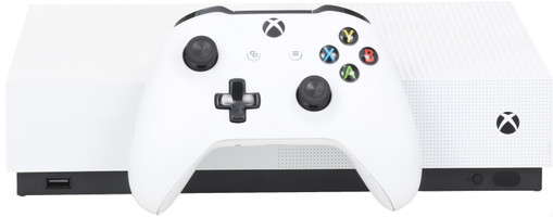 Microsoft Xbox One S 1 TB [All-Digital Edition inkl. Wireless Controller, ohne Spiel] weiß