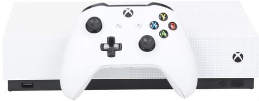 Microsoft Xbox One S 1 TB [All-Digital Edition incl. Mando inalámbrico, Sin juego] blanco