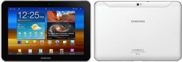 """Samsung Galaxy Tab 8.9 8,9"""" 32GB [WiFi] bianco"""