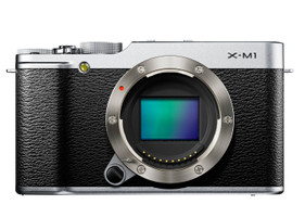 Fujifilm X-M1 Cuerpo plata