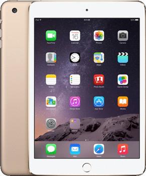 "Apple iPad mini 3 7,9"" 128GB [wifi + cellular] goud"