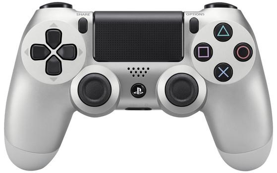 Manette sans fil Sony PS4 DualShock 4 argent