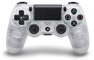 Sony PS4 DualShock 4 mando inalámbrico cristal