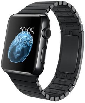 Apple Watch 42mm nero siderale con bracciale a maglie nero [Wifi]