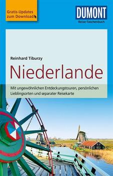 DuMont Reise-Taschenbuch Reiseführer Niederlande. mit Online-Updates als Gratis-Download - Reinhard Tiburzy  [Taschenbuch]