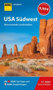 ADAC Reiseführer USA Südwest. Der Kompakte mit den ADAC Top Tipps und cleveren Klappkarten - Ralf Johnen  [Gebundene Ausgabe]