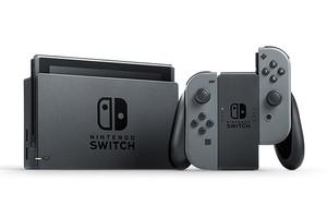 Nintendo Switch 32 Go [incl. une manette grise] noir