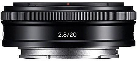 Sony E 20 mm F2.8 49 mm Objectif (adapté à Sony E-mount) noir