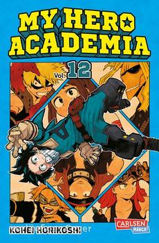 My Hero Academia 12. Die erste Auflage immer mit Glow-in-the-Dark-Effekt auf dem Cover! Yeah! - Kohei Horikoshi  [Taschenbuch]