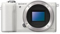 Sony Alpha 5000 body bianco