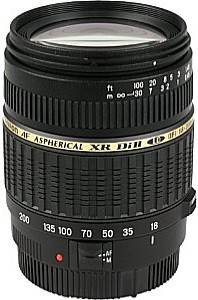 Tamron AF 18-200 mm F3.5-6.3 ASL Di IF LD XR II Macro 62 mm filter (geschikt voor Canon EF) zwart