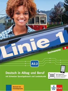 Linie 1 Schweiz A2.2. Deutsch in Alltag und Beruf. Kurs- und Übungsbuch mit DVD-ROM - Paul Rusch  [Taschenbuch]