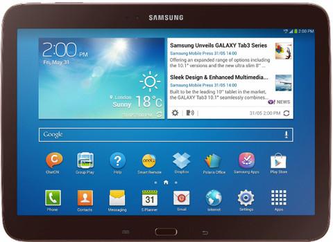 """Samsung Galaxy Tab 3 10.1 10,1"""" 32GB [wifi] goudbruin"""