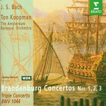 Koopman - Brandenburgische Konzerte 1-3