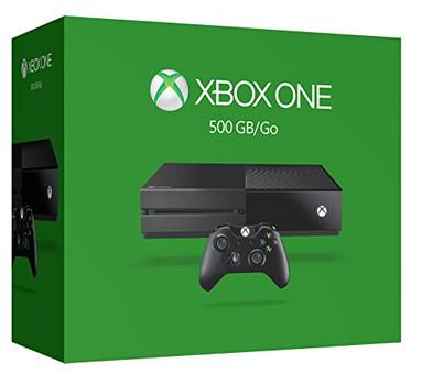 Microsoft Xbox One 500 GB [con controller wireless, con presa per cuffie 3,5mm] nero opaco