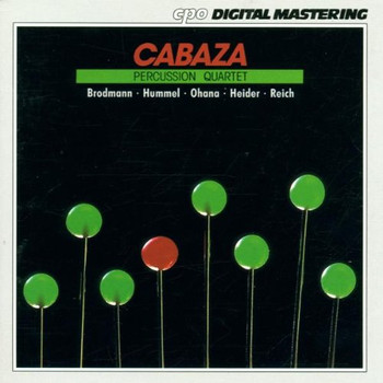 Cabaza - Percussion Quartet