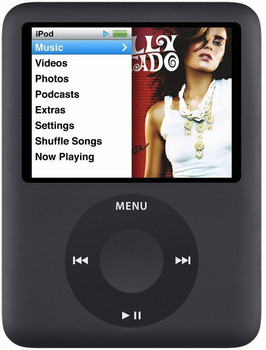 Apple iPod nano 3G 8GB negro