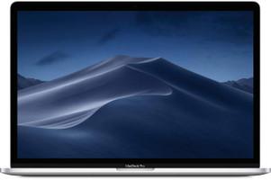 "Apple MacBook Pro met touch bar en touch ID 15.4"" (True Tone retina-display) 2.3 GHz Intel Core i9 16 GB RAM 512 GB SSD [Mid 2019, QWERTY-toetsenbord] zilver"