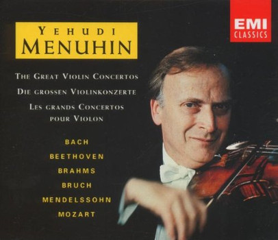 Yehudi Menuhin - Yehudi Menuhin spielt große Violinkonzerte