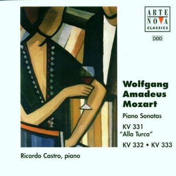 Ricardo Castro - Klaviersonaten KV 331-333