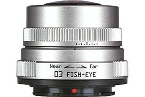 Pentax 3,2 mm F5.6 (geschikt voor Pentax Q) zilver
