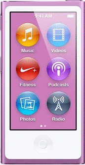 Apple iPod nano 7G 16GB morado