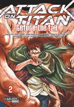 Attack on Titan - Before the Fall, Band 2 - Isayama, Hajime