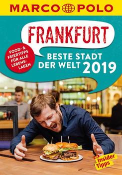 MARCO POLO Beste Stadt der Welt - Frankfurt 2019 (MARCO POLO Cityguides). Mit Insider-Tipps und Stadtviertelkarten - Katharina J. Cichosch  [Taschenbuch]
