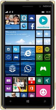 Nokia Lumia 830 16 Go noir doré