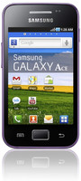 Samsung S5830i Galaxy Ace 150MB morado