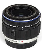 Olympus M.Zuiko 14-42 mm F3.5-5.6 ED L 40,5mm Obiettivo (compatible con Micro Four Thirds) nero