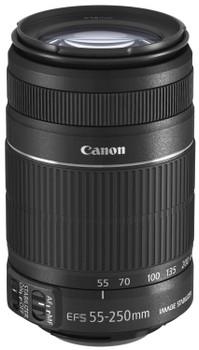 Canon EF-S 55-250 mm F4.0-5.6 IS II 58 mm Obiettivo (compatible con Canon EF-S) nero