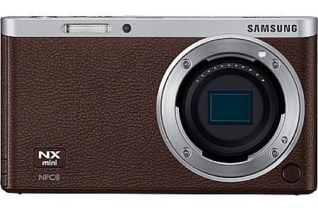 Samsung NX mini body marrone